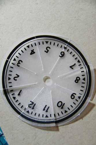 Cut clock