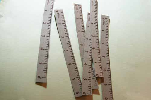 Stamped rulers 2