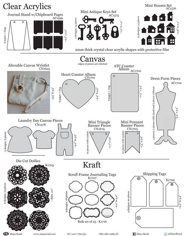 1B - Arcylics & Canvas & Kraft