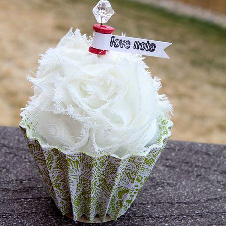 MR Ronda Love  Cupcake