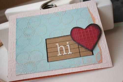Core Caroline Card