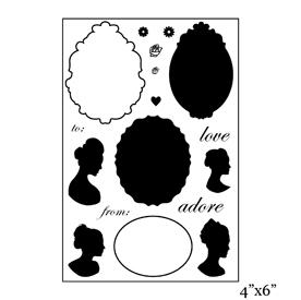 SMP1901 - Cameo Stamp Set