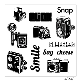 SMP1903 - Say Cheese Stamp Sheet