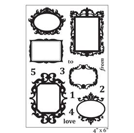 SMP2059 - Ornaate Frames Stamp Set