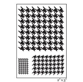 SMP2065 - Houndstooth Singleton Stamp