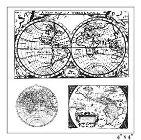 SMP2062 - Around the World Stamp Sheet