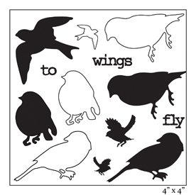 SMP2063 - Wings to Fly Birds Stamp Sheet