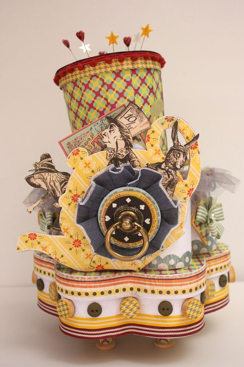 Mad hatter flower box 1
