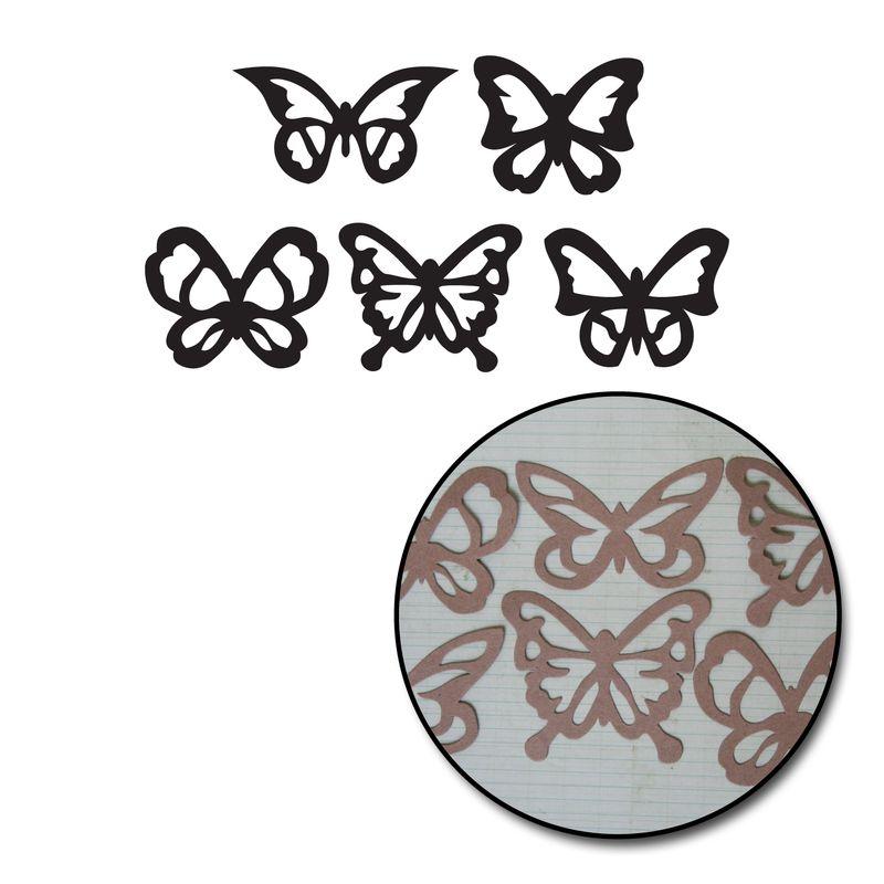 K2199 - Kraft Die Cut Butterflies
