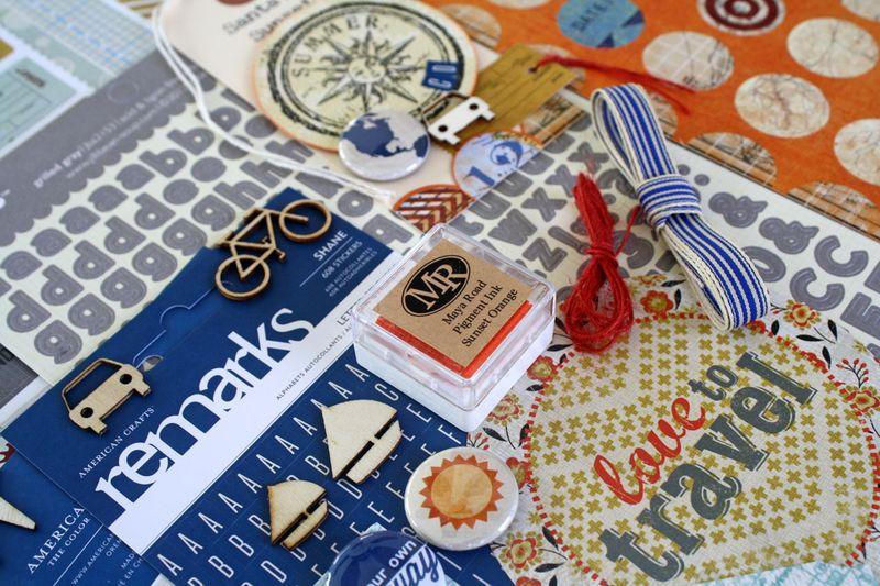 Maya road main kit close up
