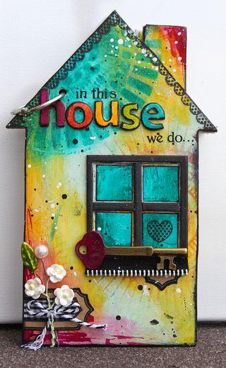 Ronda Palazzari In the House Mini Album