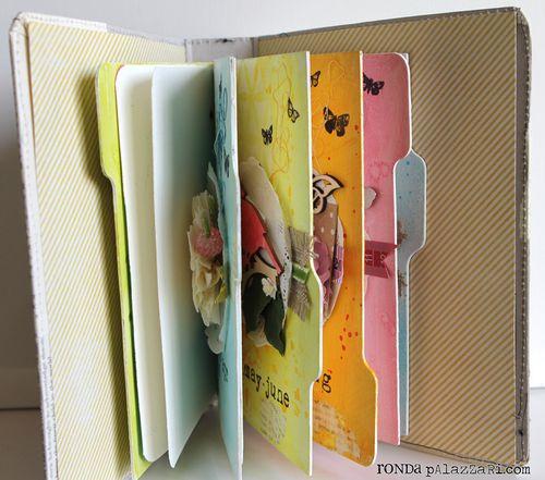 Ronda Palazzari Out Art Journal Album interior