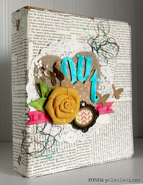 Ronda Palazzari Out Art Journal Album 2