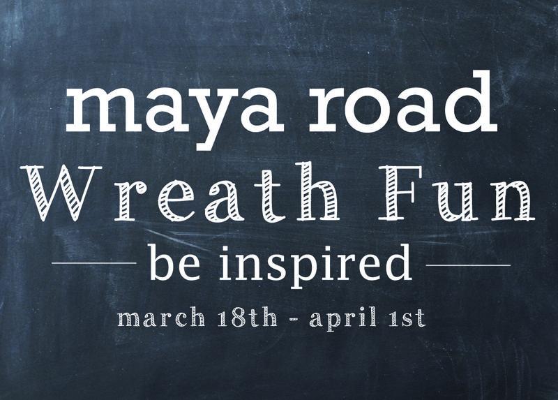 Wreath fun march 18 - april 1st
