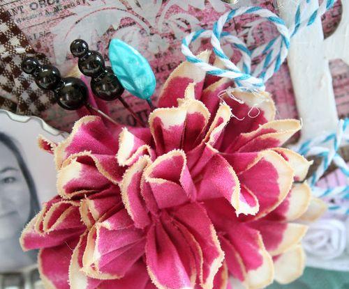 Shabby bliss flower detail