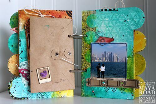 Ronda Palazzari Captured Mini Album pg 5
