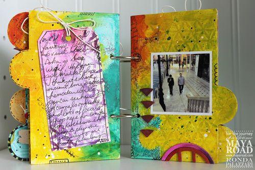 Ronda Palazzari Captured Mini Album pg 7