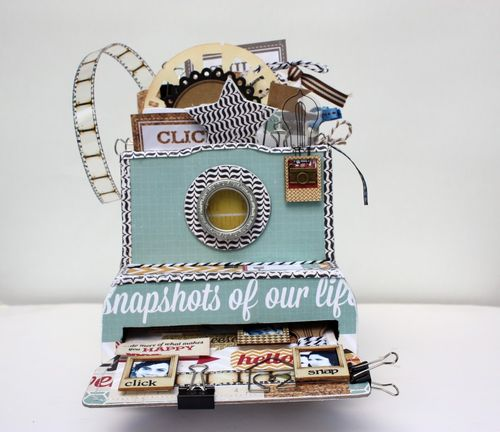 Mini Camera Album - Snapshots of our life