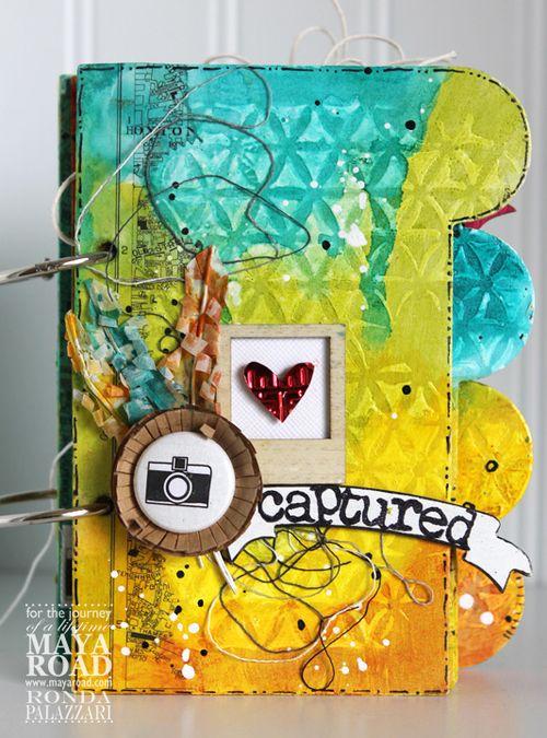 Ronda Palazzari Captured Mini Album