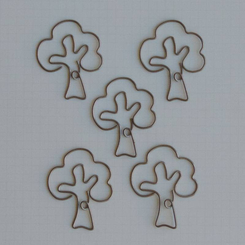MVT2651 - Metal Vintage Trinket - Old Oak Tree Clips