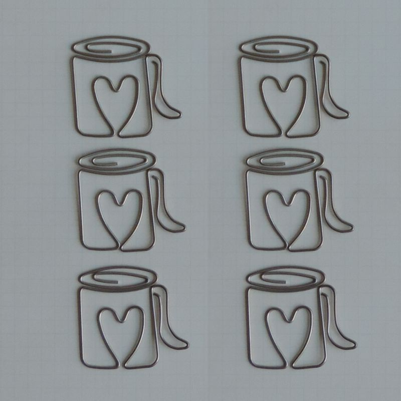 MVT2678 - Metal Vintage Trinkets - Love My Cup of Joe Clips
