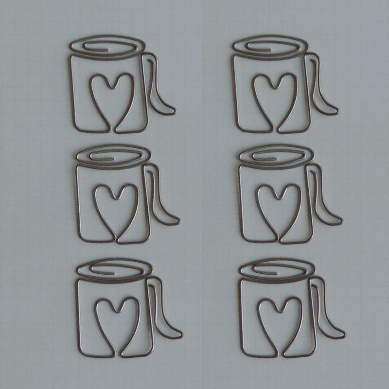 MVT2678 - Metal Vintage Trinkets - Love My Cup of Joe Clips