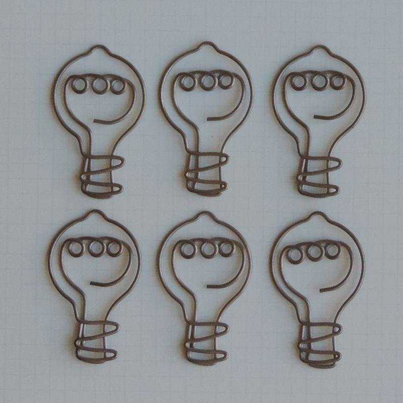 MVT2653 - Metal Vintage Trinket - Eureka Light Bulb Clips
