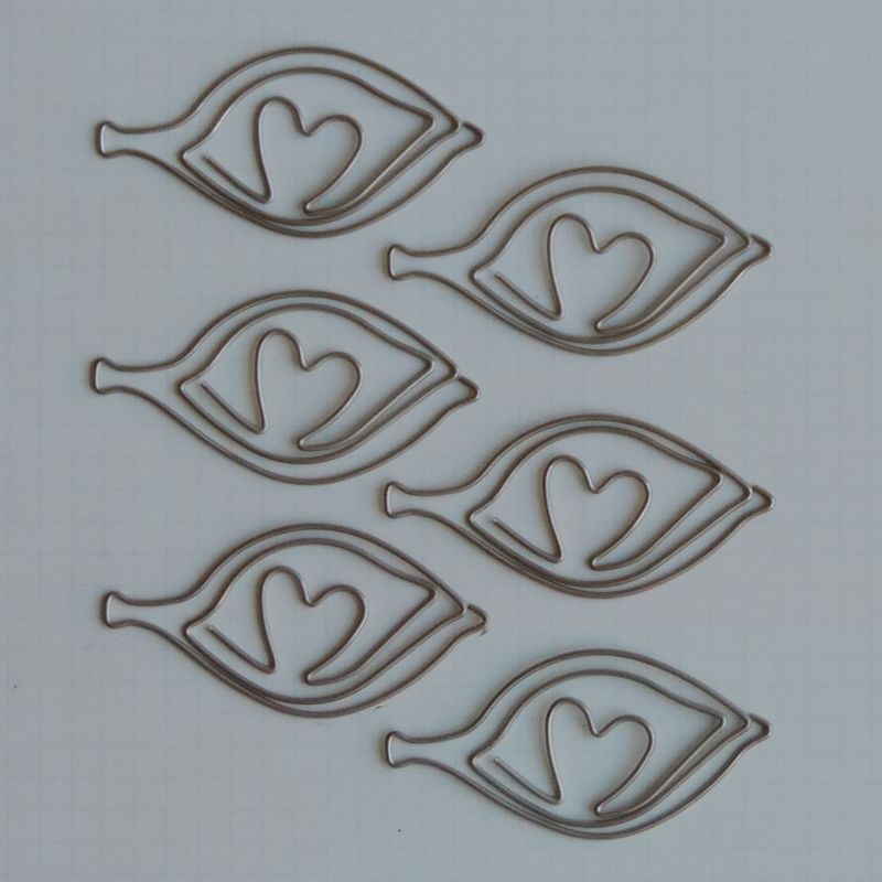 MVT2674 - Metal Vintage Trinkets - Lovely Leaf Clips