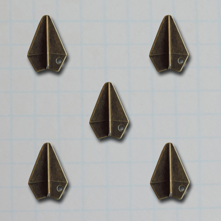 VF2687 - Paper Airplane Charms