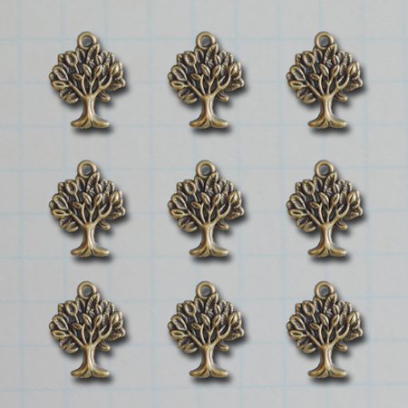 VF2692 - Mini Tree Charms