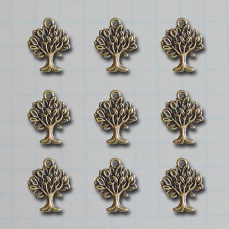 VF2692 - Mini Tree Charms