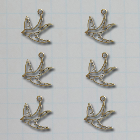 VF2694 - Soaring Bird Charms