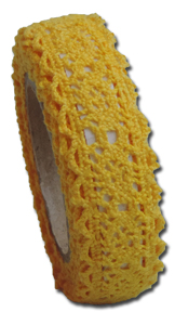 LT2707 - Vintage Lace Tape - Sunshine Yellow