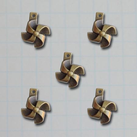 VF2690 - Pinwheel Charms