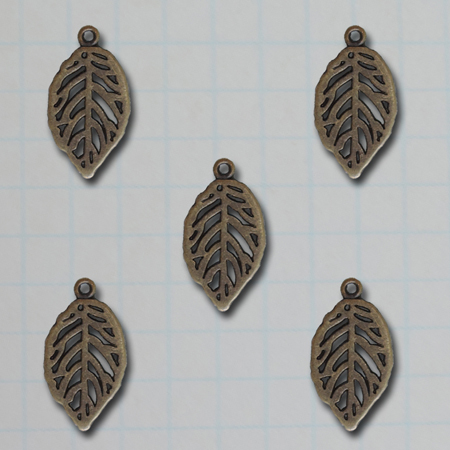 VF2691 - Mini Leaf Charms