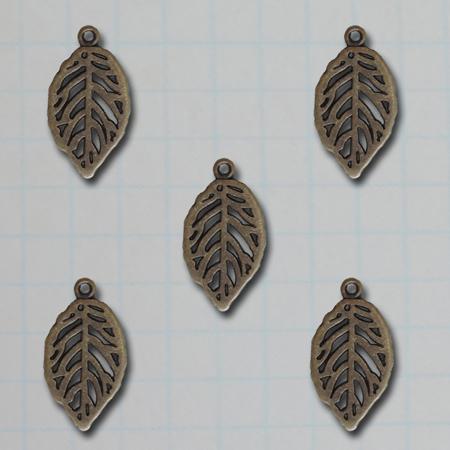 VF2691 - Mini Leaf Charms
