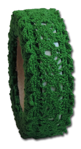 LT2709 - Vintage Lace Tape - Shamrock  Green