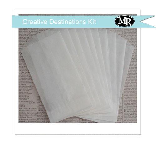 Cd-glassine-bags