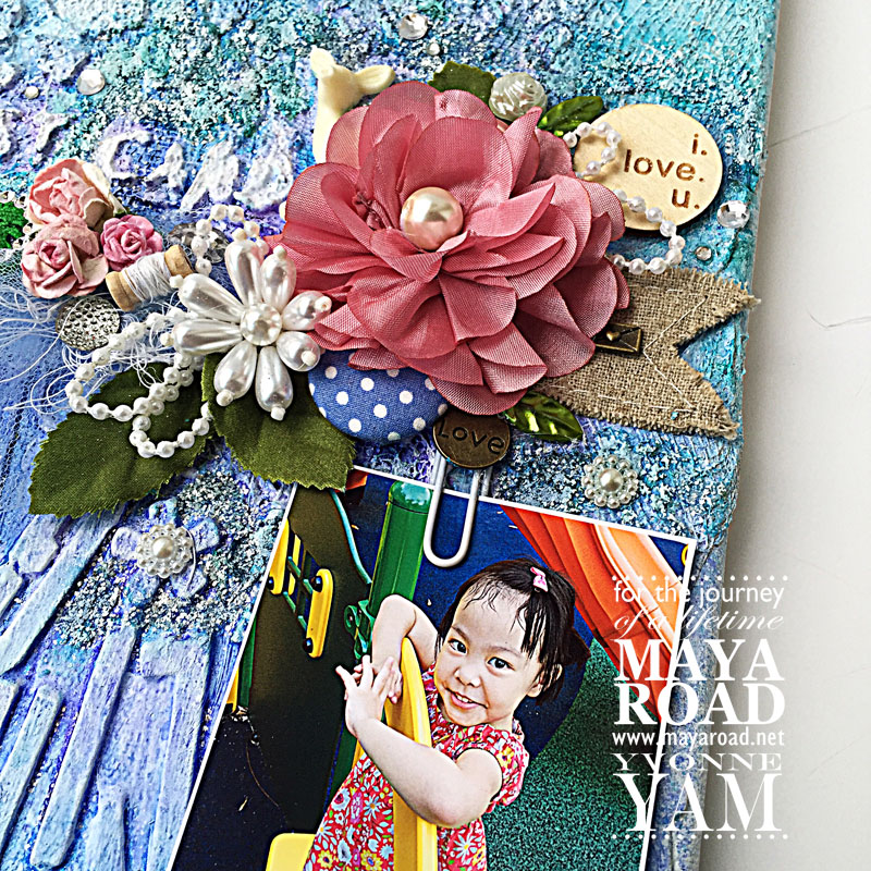 Mixed-media-noticeboard-by-Yvonne-Yam-for-Maya-Road-closeup1jpg