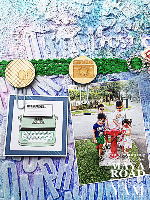 Mixed-media-noticeboard-by-Yvonne-Yam-for-Maya-Road-closeup2jpg