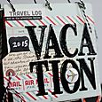 2 Vacation Mini Album by Shelley Haganman