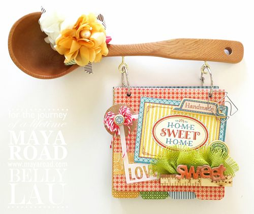 Sweet Home Recipe Album - Maya Road - Belly Lau - Design Team - 1 of 5