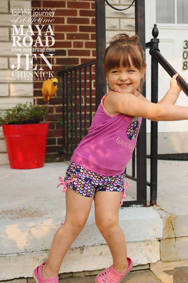 Jen Chesnick- Maya Road- Too Cute Shorts1