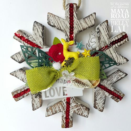 Snowflake Shine - Maya Road - Belly Lau - Design Team - 1