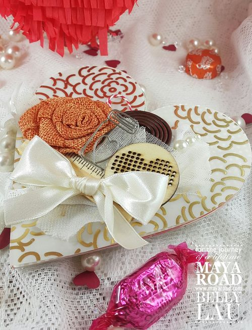 Love Pinata Mini Album - Maya Road - Belly Lau - Papercraft Buffet - Tutorial - Photo 7