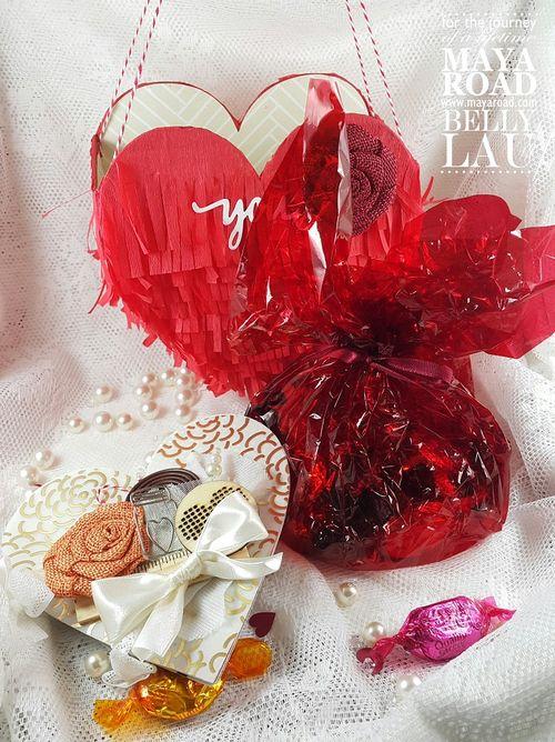 Love Pinata Mini Album - Maya Road - Belly Lau - Papercraft Buffet - Tutorial - Photo 1