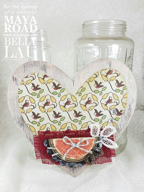 Love Everything Beautiful Mini Album - Maya Road - Album Kit - Belly Lau -Tutorial - Photo 7