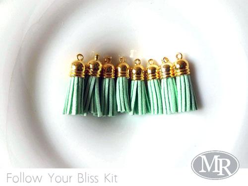Mint-tassels