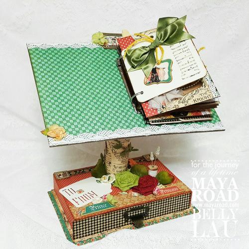 Fairy mini album stand - Maya Road - Belly Lau - Papercraft Buffet - Photo 1