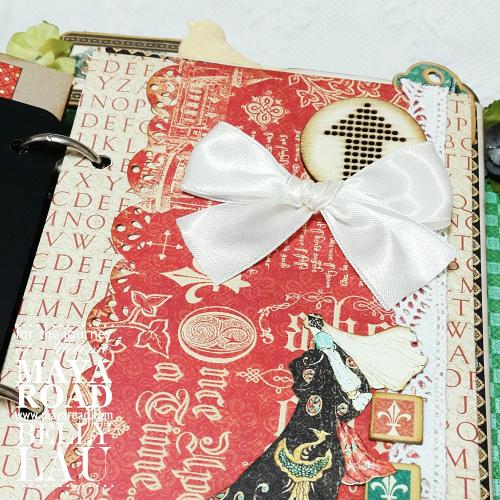 Fairy mini album stand - Maya Road - Belly Lau - Papercraft Buffet - Photo 5